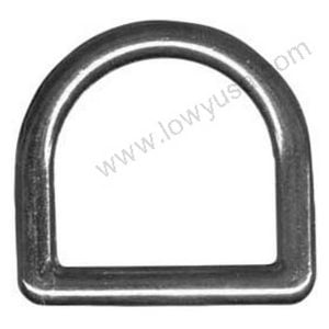 Cast Solid D-Rings